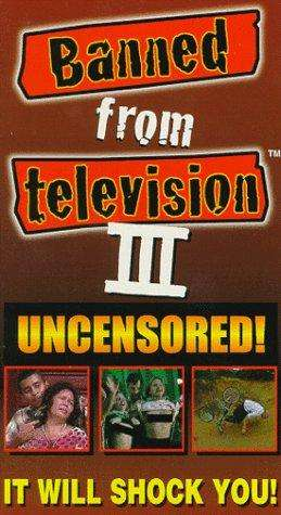 Banned from Television III kapak