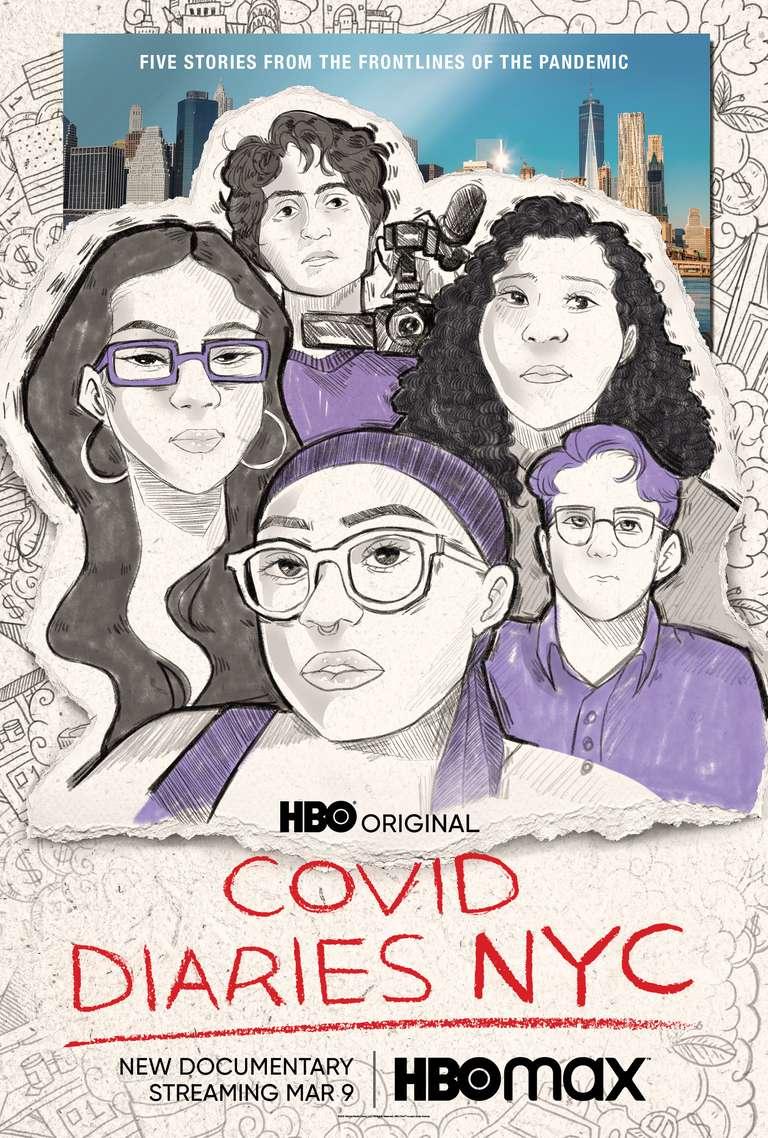 Covid Diaries NYC kapak
