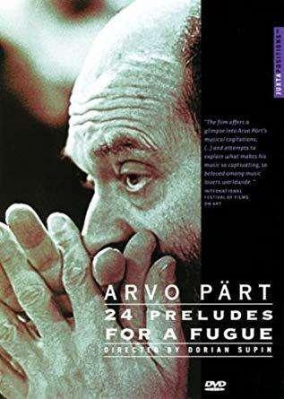 Arvo Pärt: 24 Preludes for a Fugue kapak