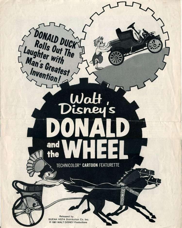Donald and the Wheel kapak