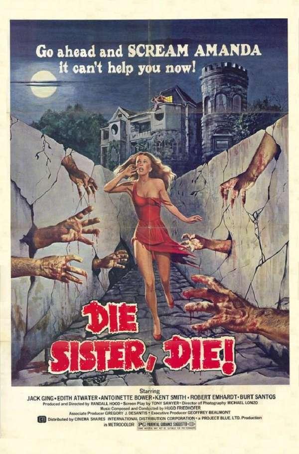 Die Sister, Die! kapak