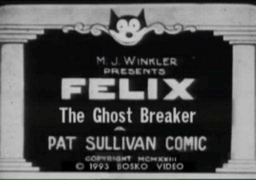 Felix the Ghost Breaker kapak