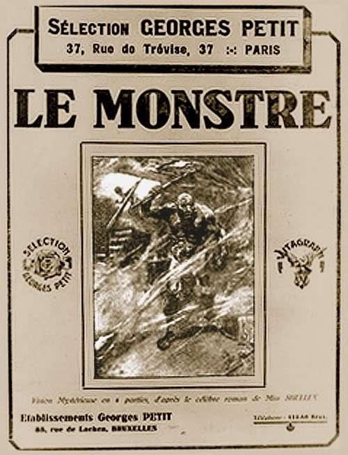 The Monster of Frankenstein kapak