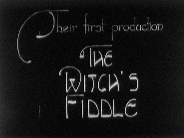 The Witch's Fiddle kapak