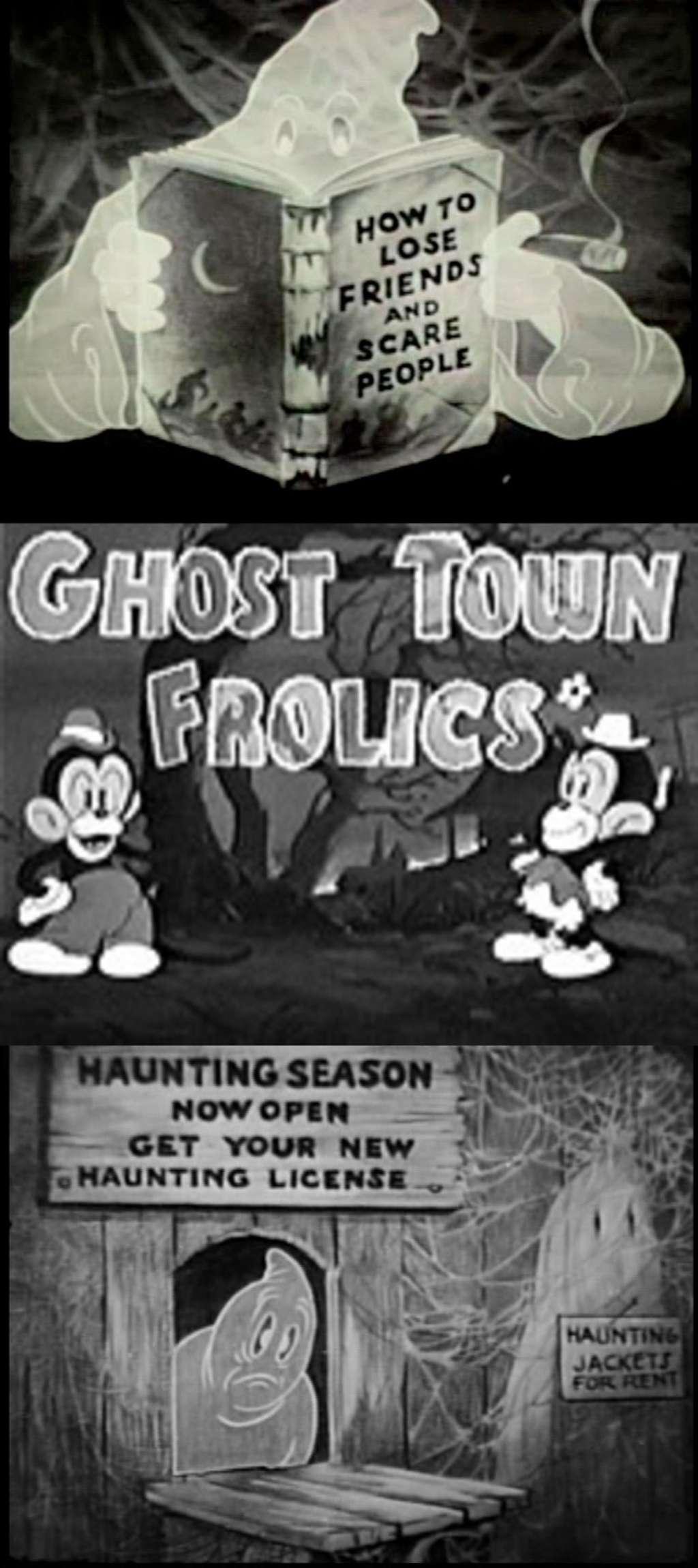Ghost Town Frolics kapak