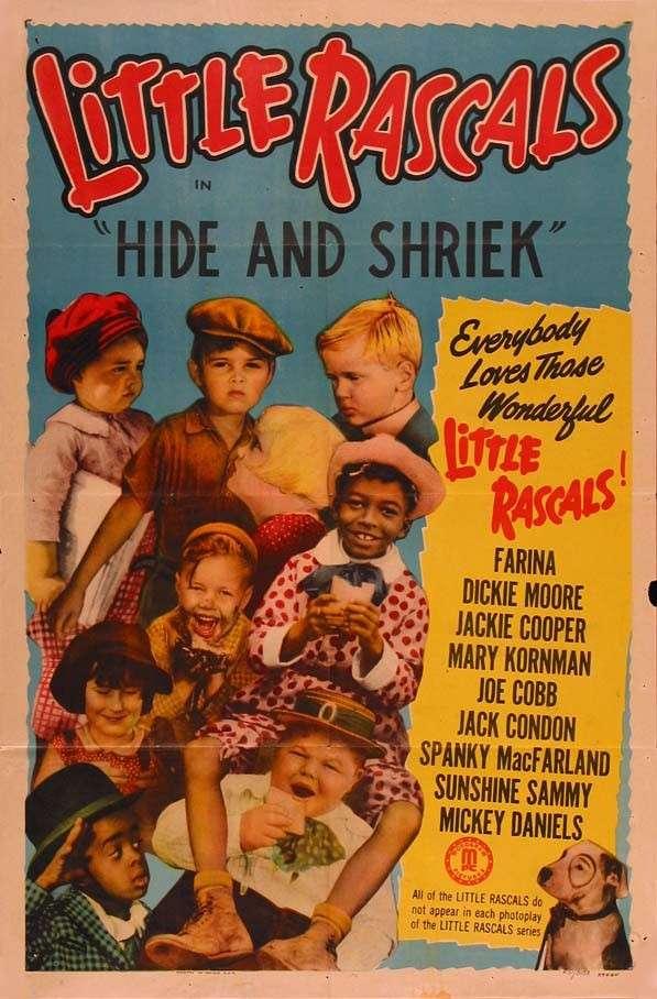 Hide and Shriek kapak