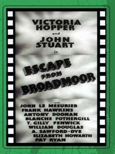 Escape from Broadmoor kapak