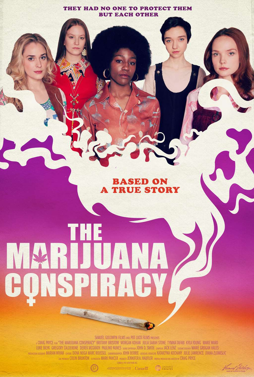 The Marijuana Conspiracy kapak