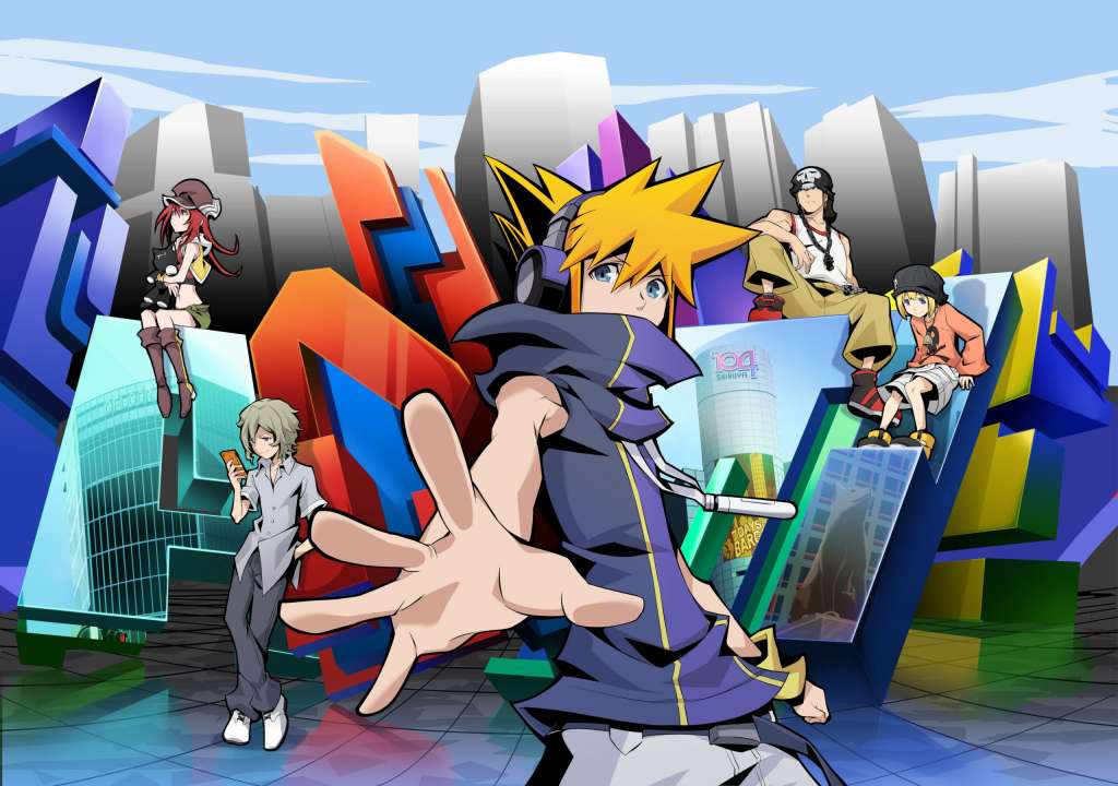 The World Ends with You: The Animation kapak