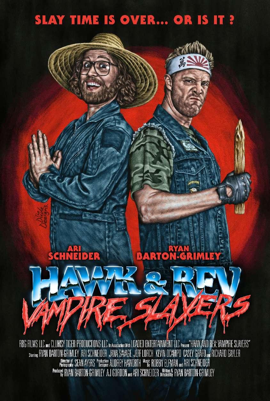 Hawk and Rev: Vampire Slayers kapak