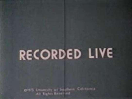 Recorded Live kapak
