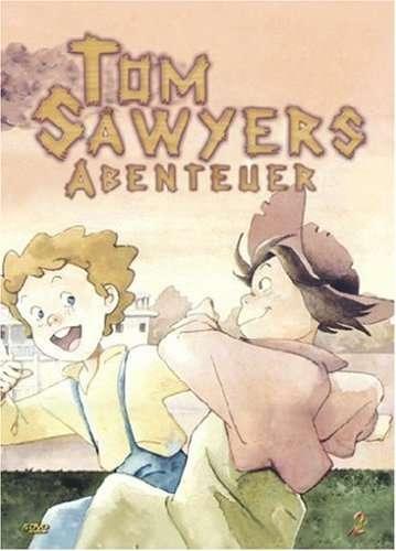 The Adventures of Tom Sawyer kapak