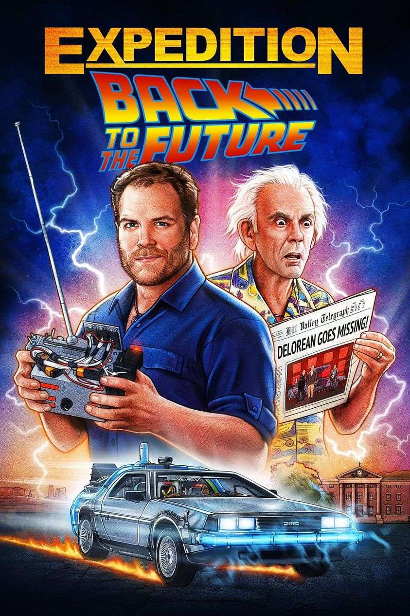 Expedition: Back to the Future kapak