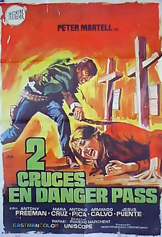 Two Crosses at Danger Pass kapak
