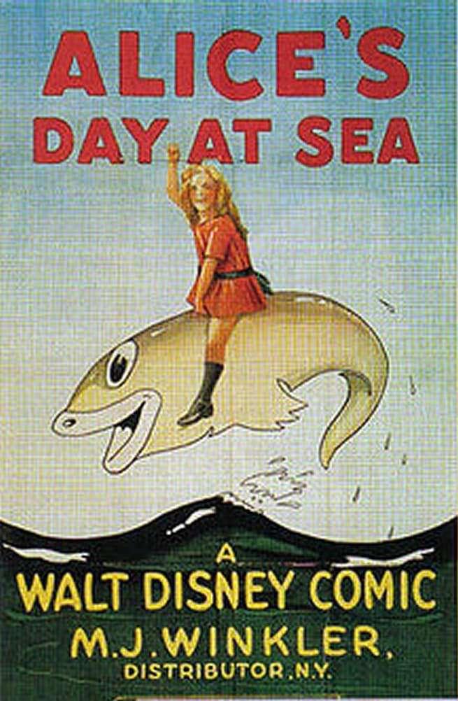 Alice's Day at Sea kapak