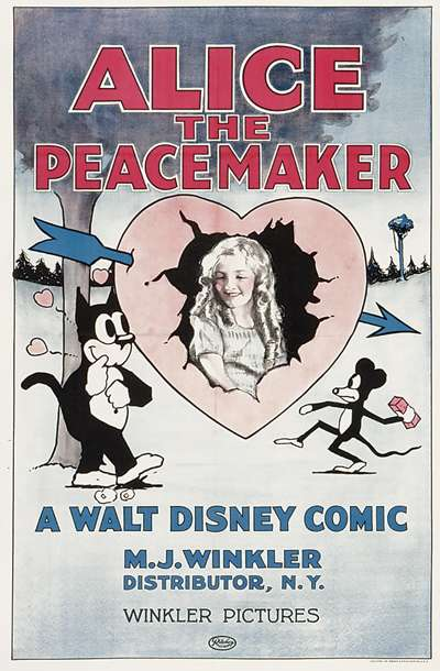 Alice the Peacemaker kapak