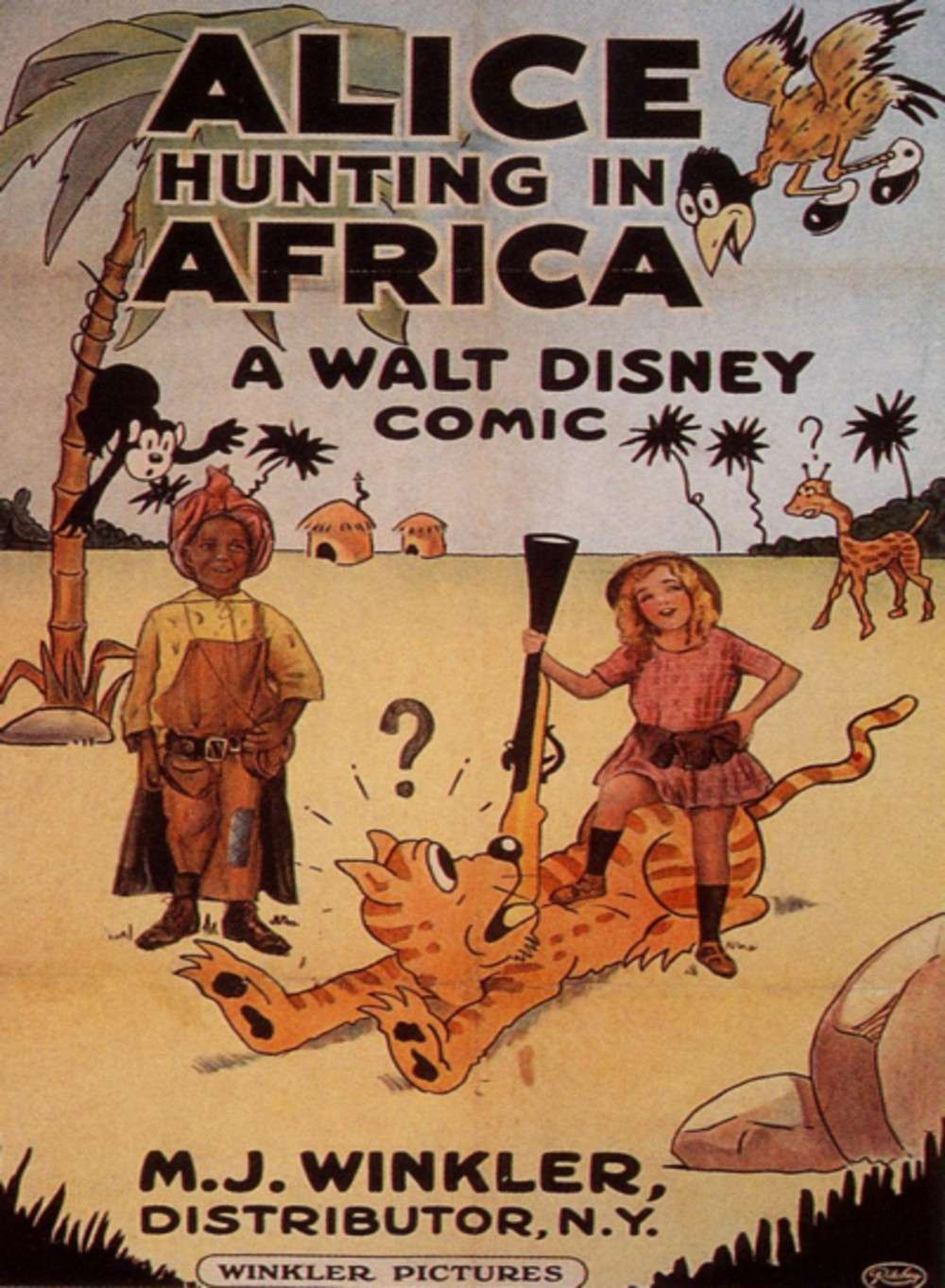 Alice Hunting in Africa kapak