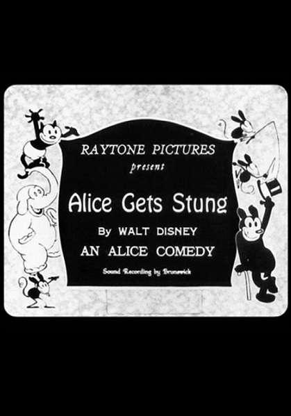 Alice Gets Stung kapak