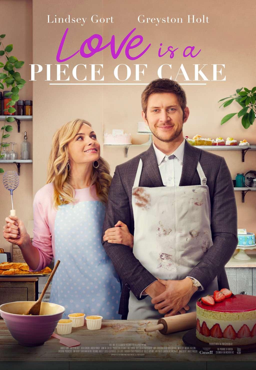 Love is a Piece of Cake kapak