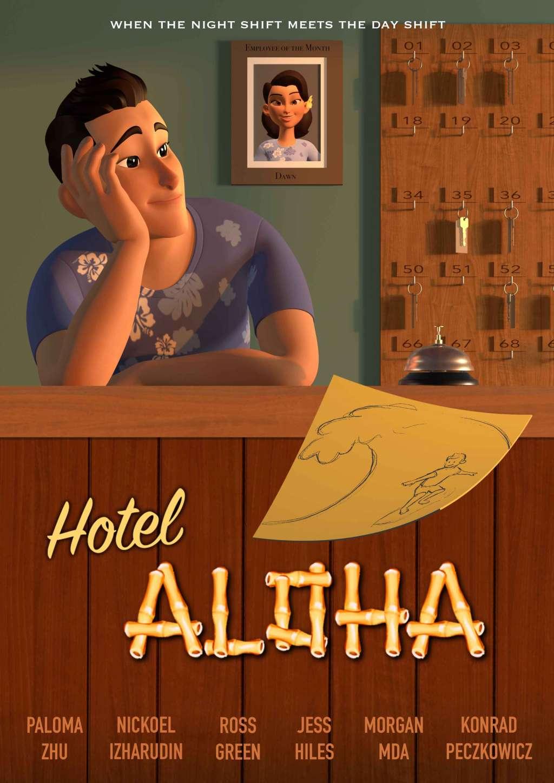 Hotel Aloha kapak