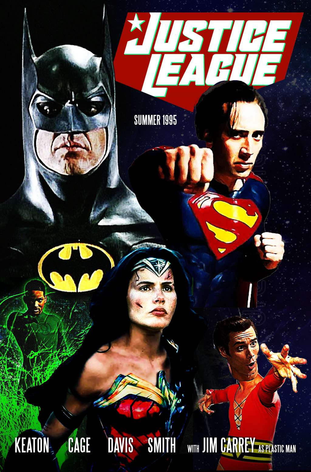 Justice League 1995 kapak