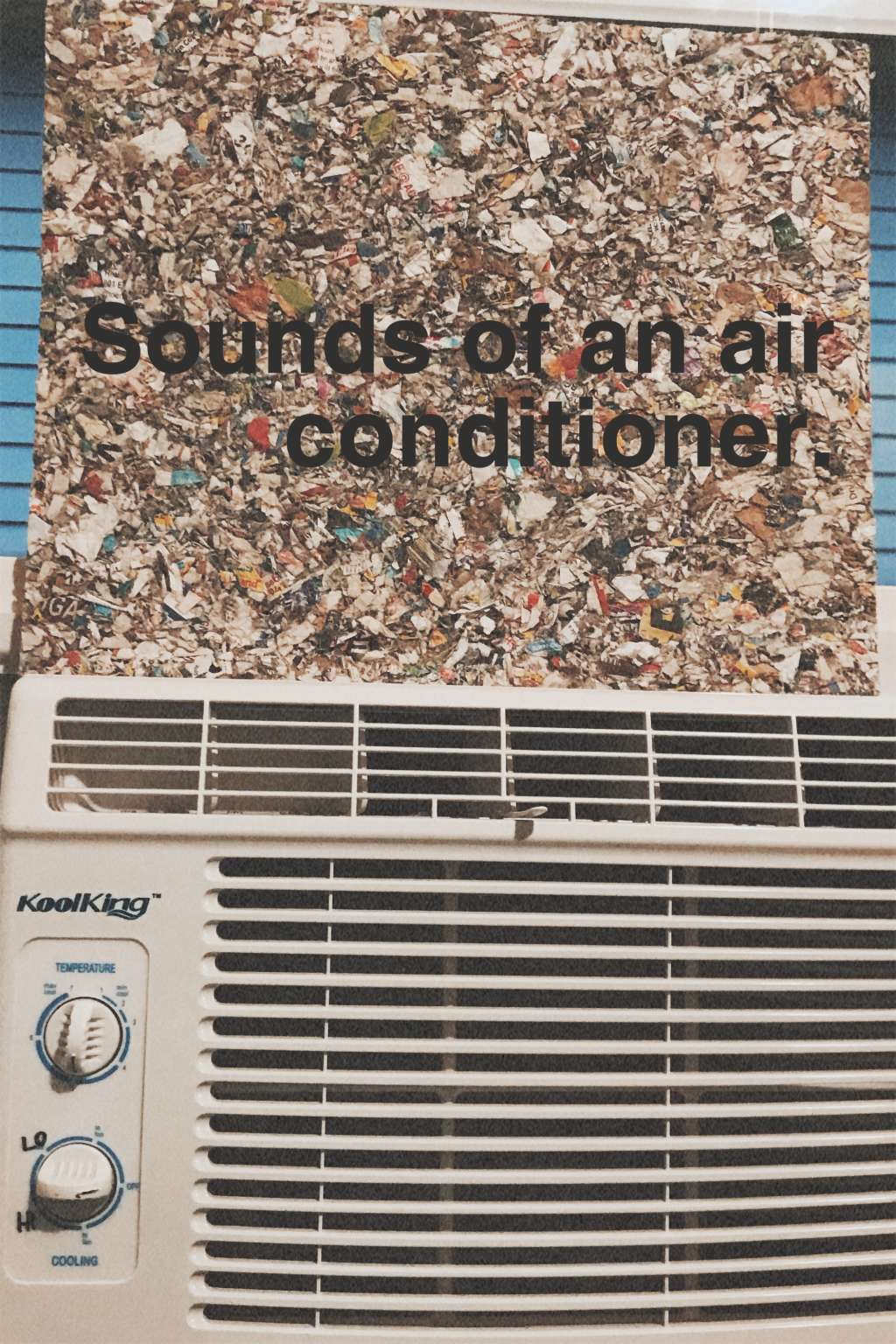 Sounds Of An Air Conditioner. kapak
