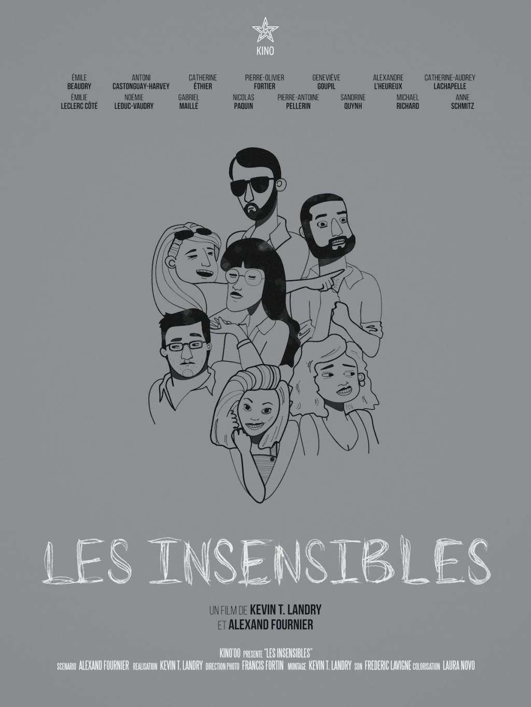 Les Insensibles kapak