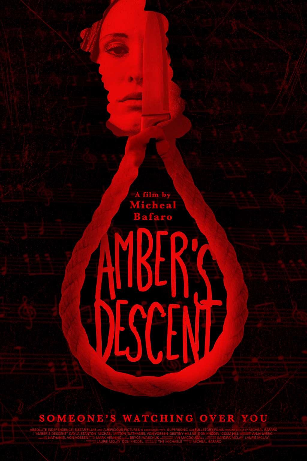 Amber's Descent kapak