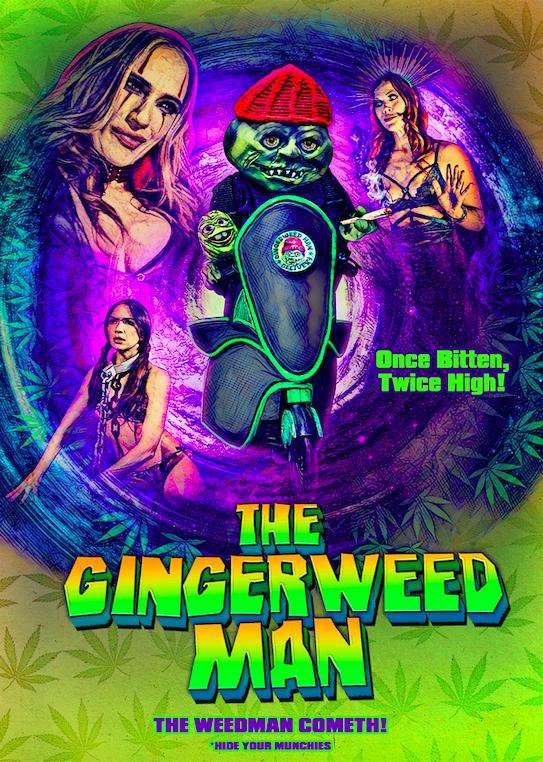 The Gingerweed Man kapak