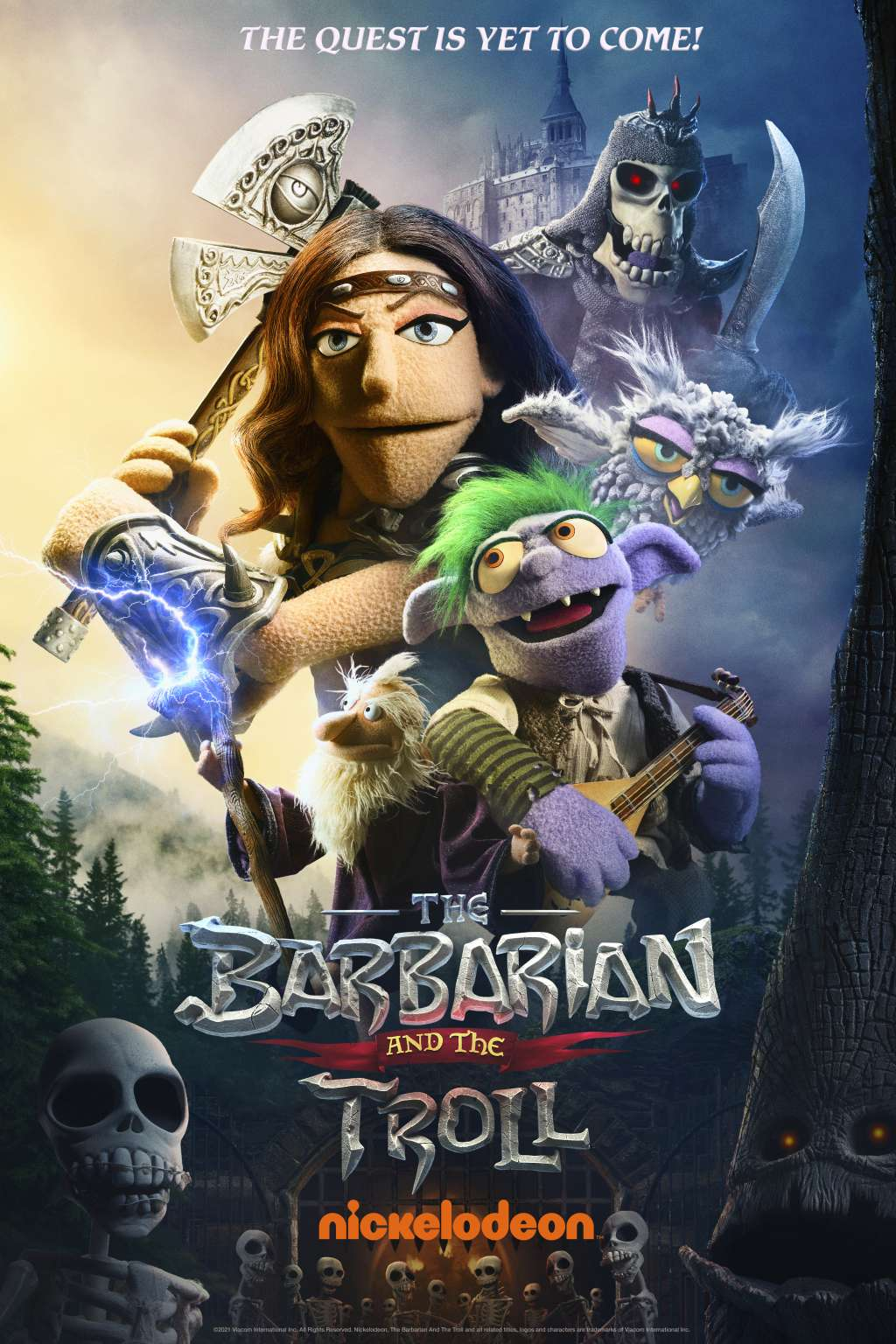 The Barbarian and the Troll kapak