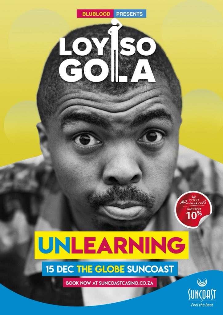 Loyiso Gola: Unlearning kapak