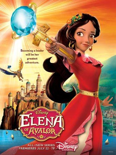 Elena of Avalor kapak