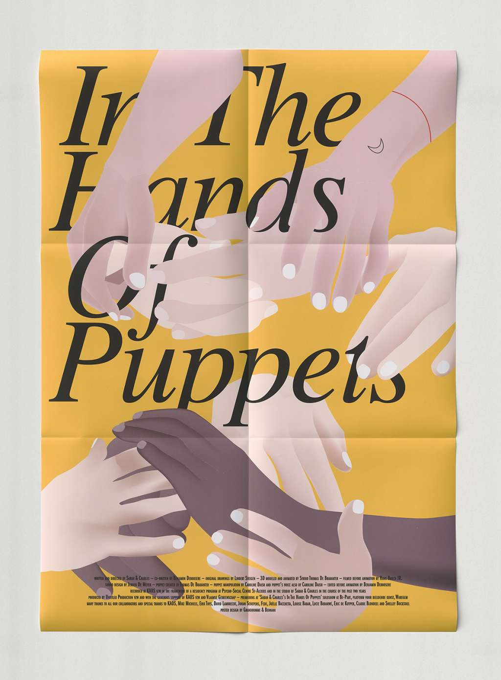 In the Hands of Puppets kapak