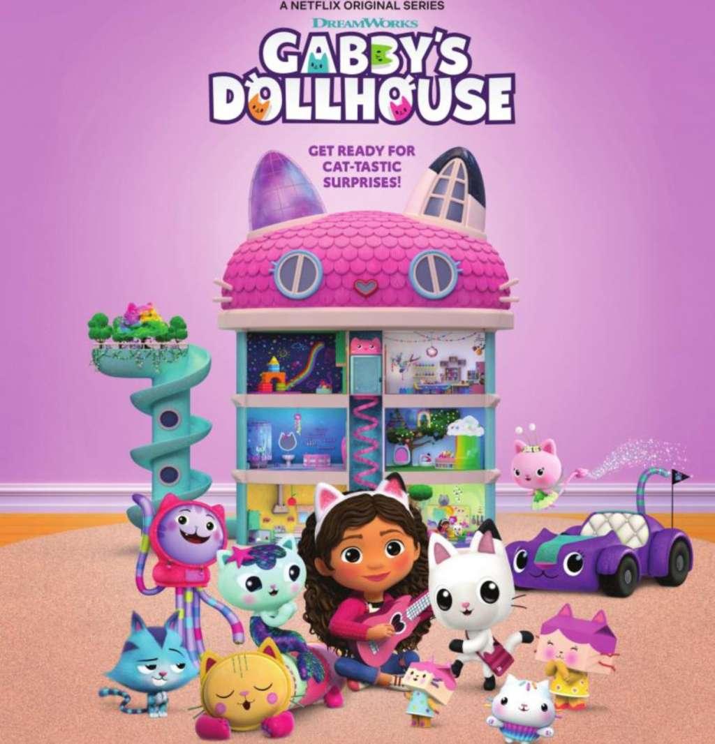 Gabby's Dollhouse kapak
