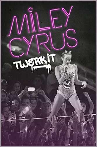 Miley Cyrus: Twerk It kapak