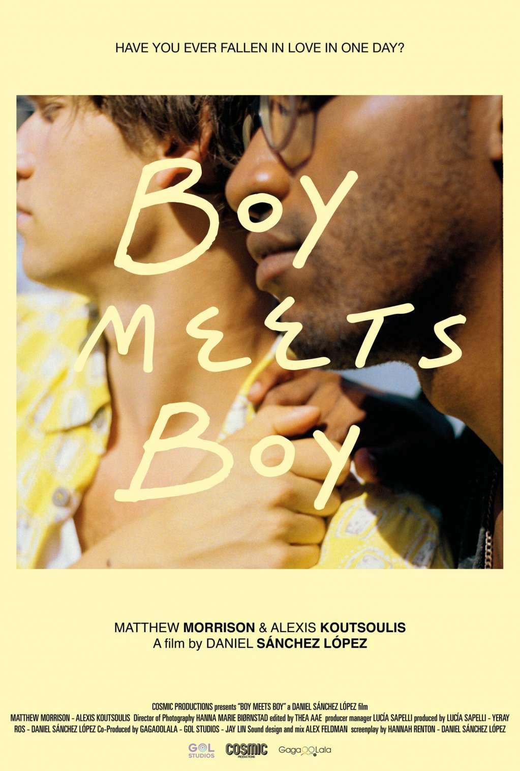 Boy Meets Boy kapak