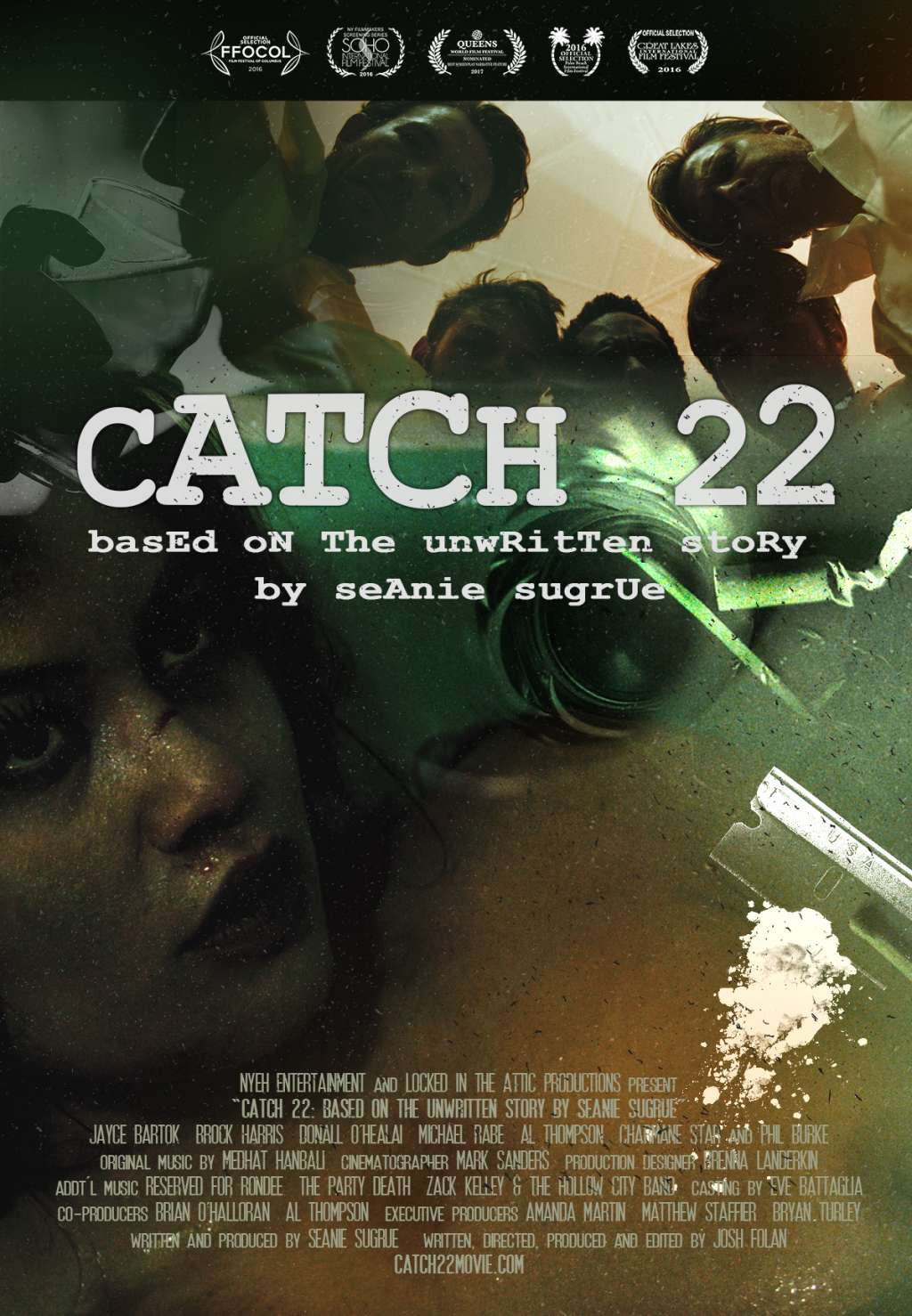 Catch 22: Based on the Unwritten Story by Seanie Sugrue kapak
