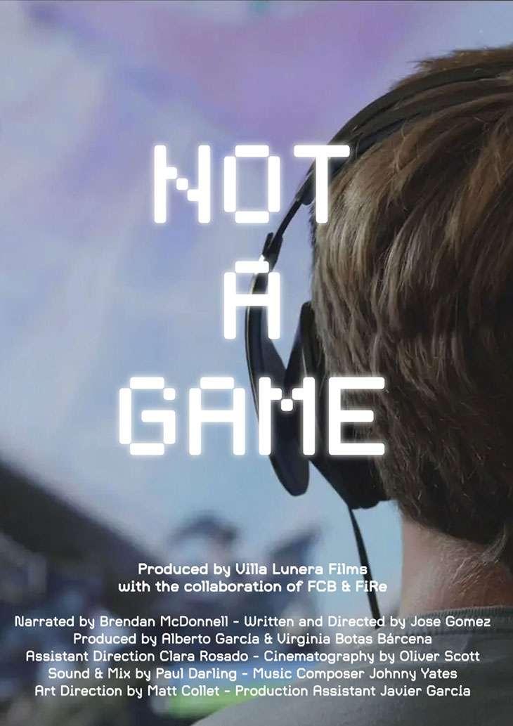 Not a Game kapak