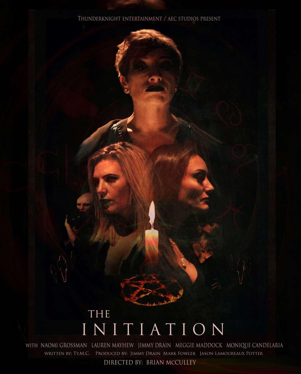 The Initiation kapak