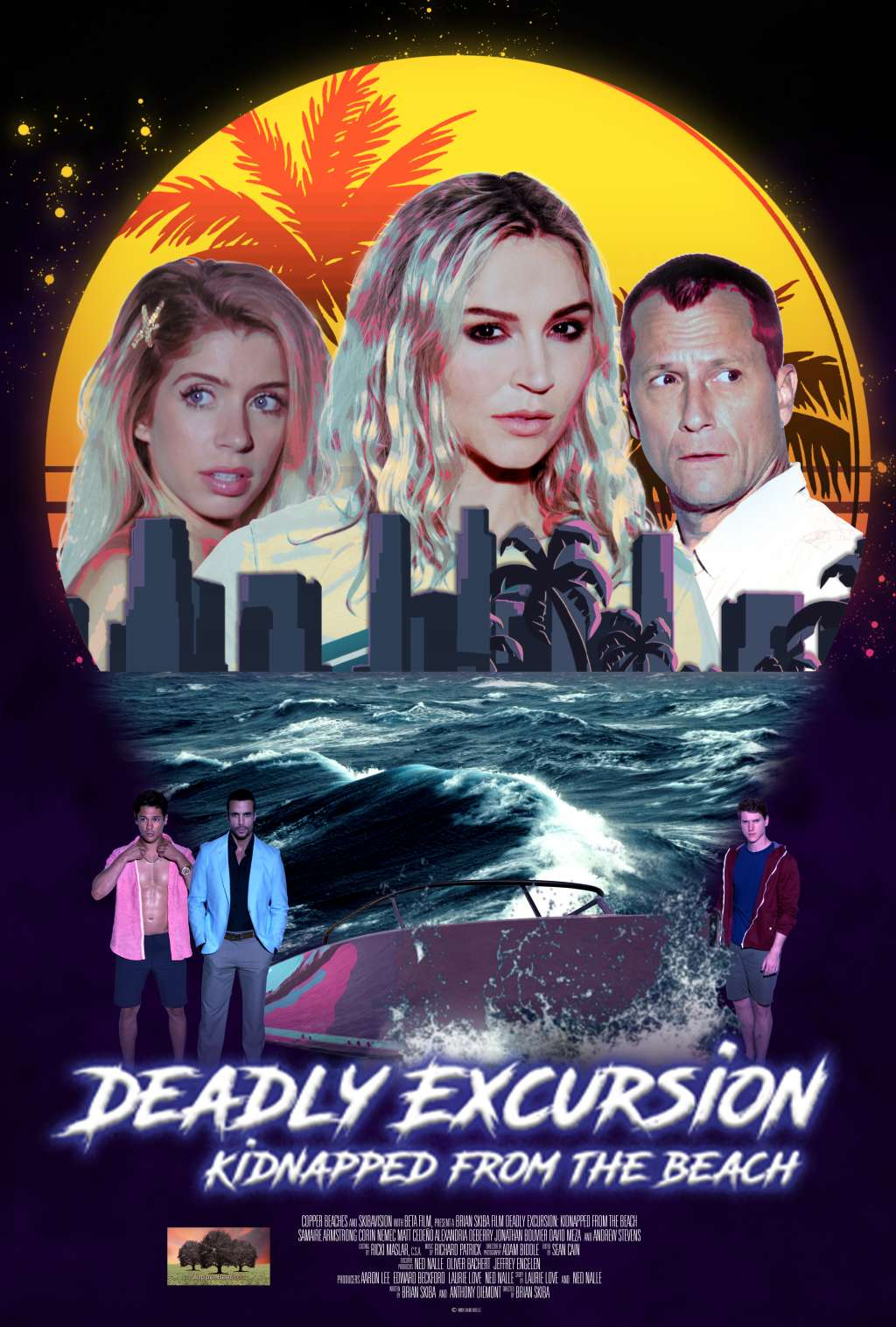 Deadly Excursion: Kidnapped from the Beach kapak