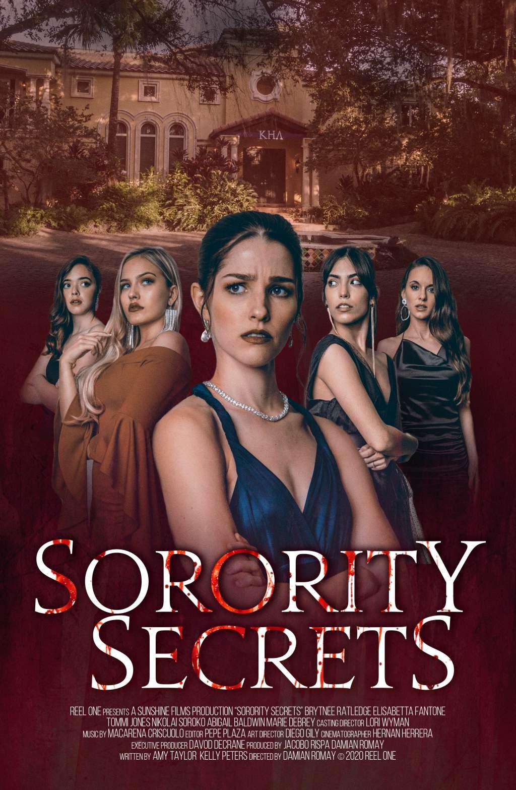 Sorority Secrets kapak