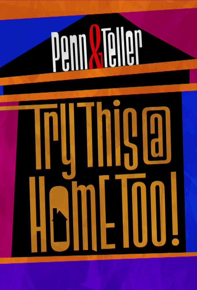 Penn & Teller: Try This at Home Too kapak