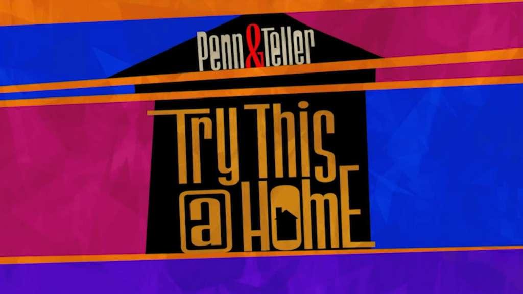 Penn & Teller: Try This at Home kapak