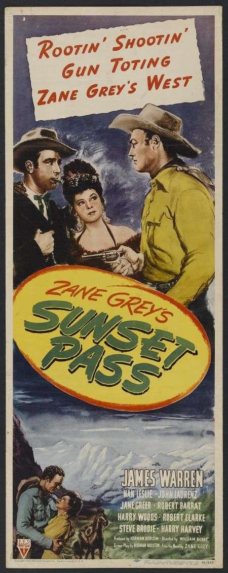Sunset Pass kapak