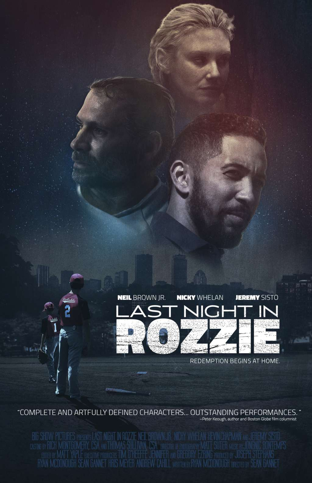 Last Night in Rozzie kapak