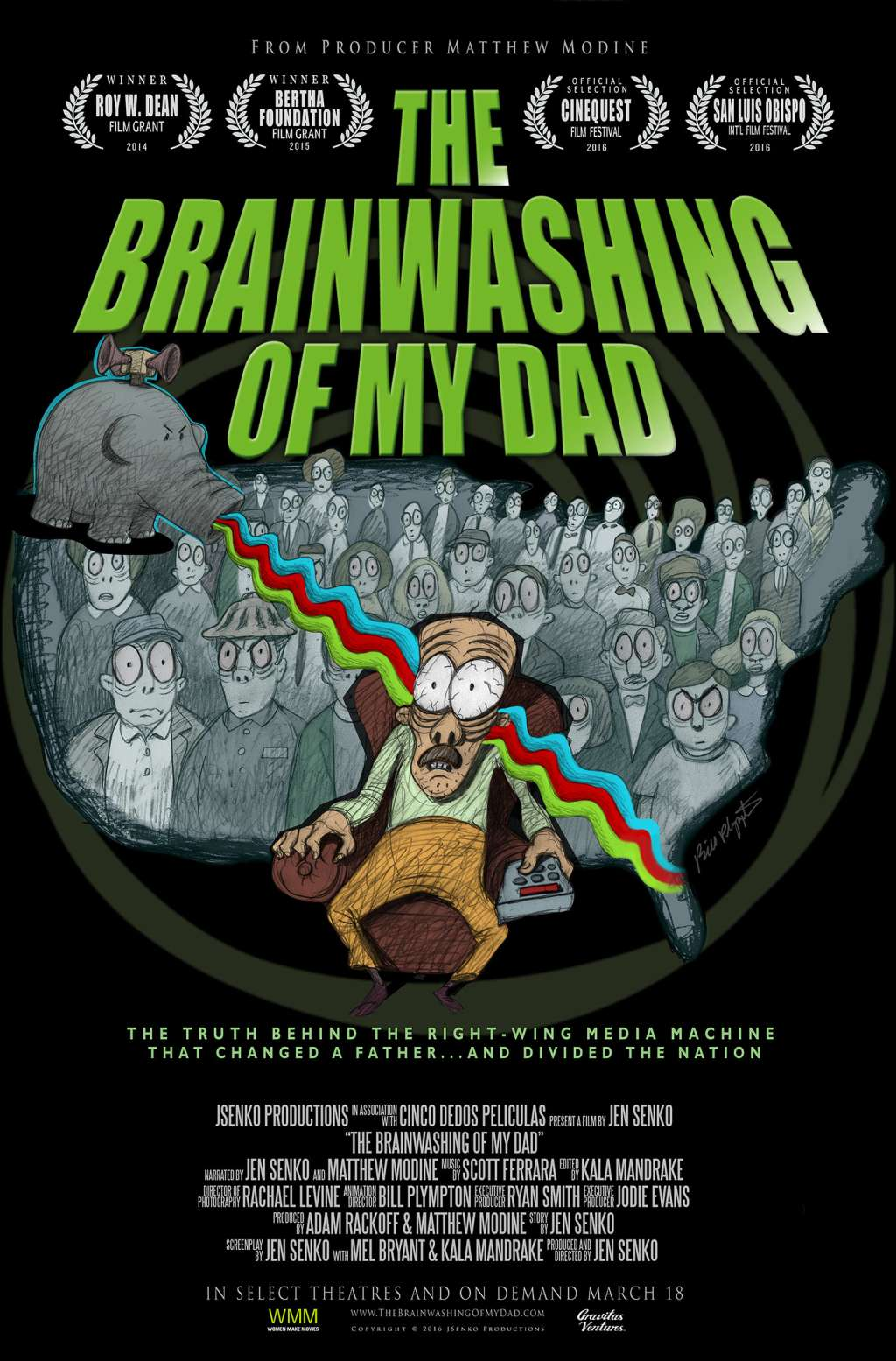 The Brainwashing of My Dad kapak