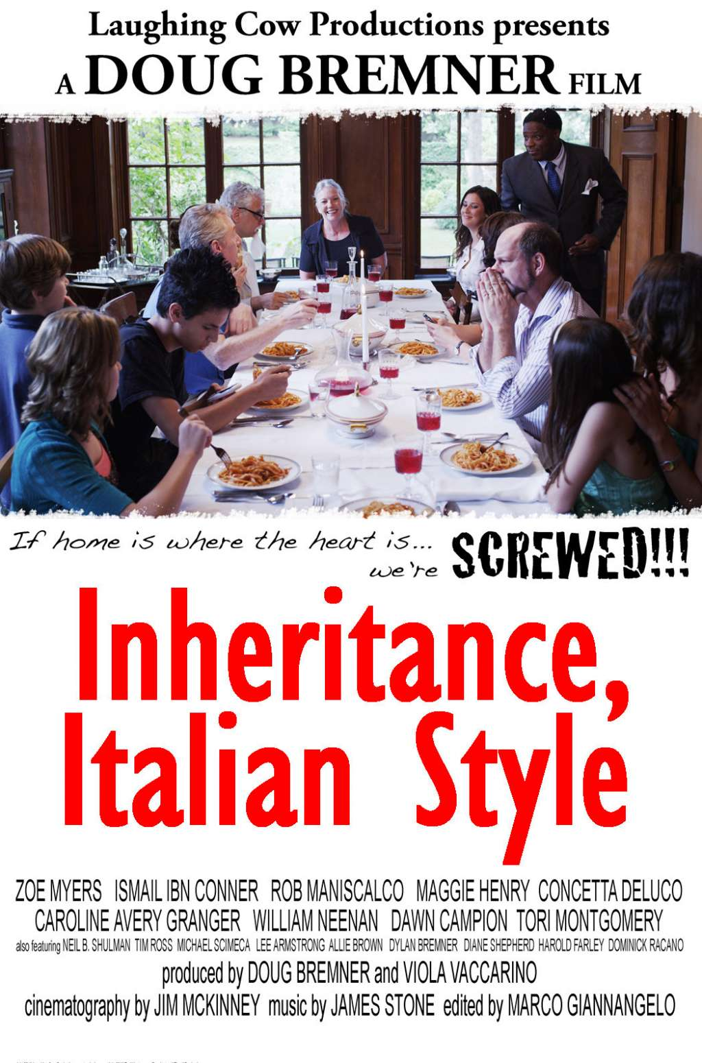 Inheritance, Italian Style kapak