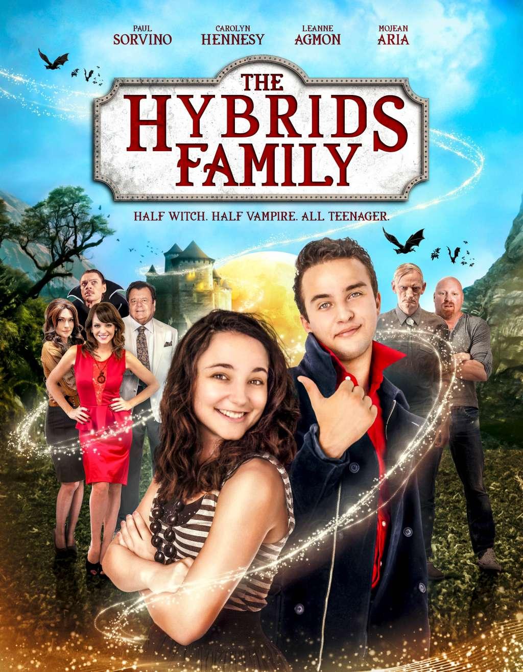 The Hybrids Family kapak