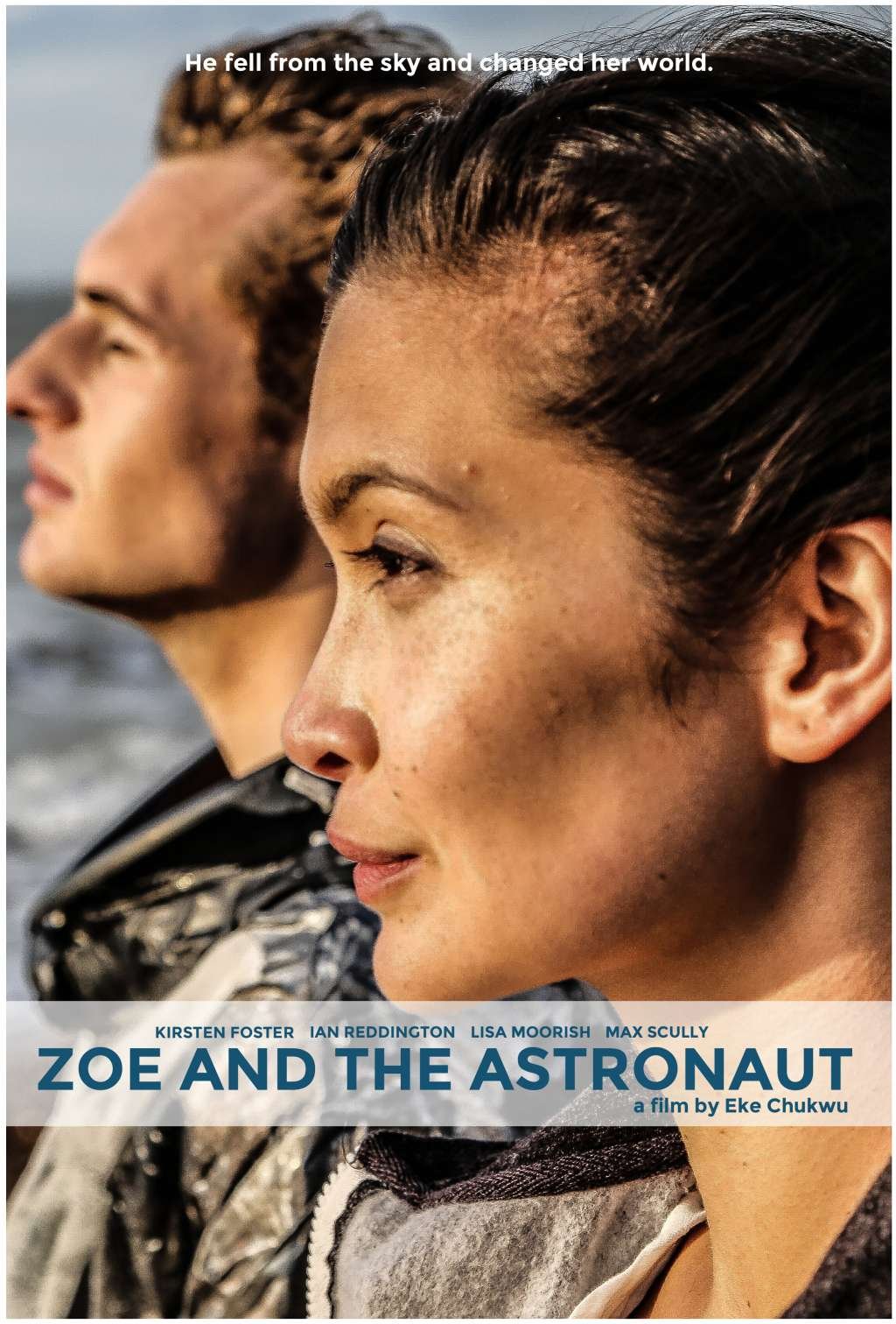 Zoe and the Astronaut kapak