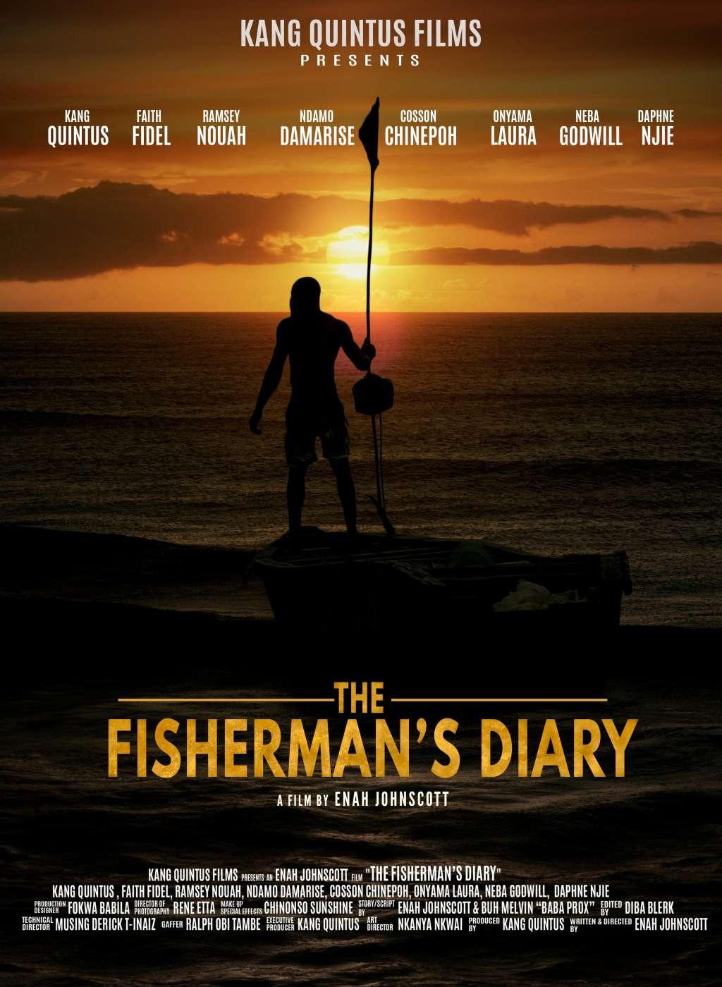 The Fisherman's Diary kapak
